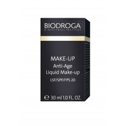 BIODROGA MAKE UP  Anti- Age Liquid Make up  SPF 20-  04 bronze tan 30ml