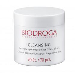 BIODROGA CLEANSING Oční odličovací tampónky bez oleje 70ks