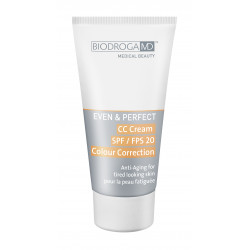 BIODROGA MD  Even & Perfect CC korekční krém proti únavě pleti s LSF20 40ml